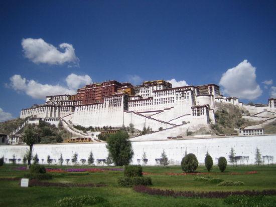 西藏圣地布达拉宫