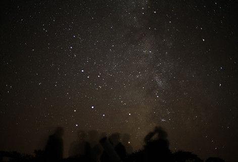 小岛适合赏星星