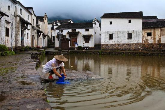 新叶村的抟云塔据说是明朝的