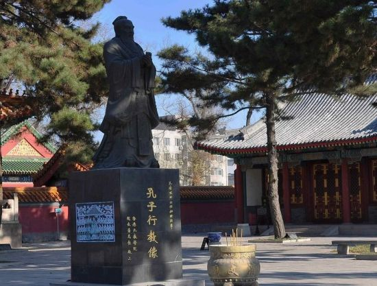 中国四大文庙之一 东方气息的吉林文庙 图
