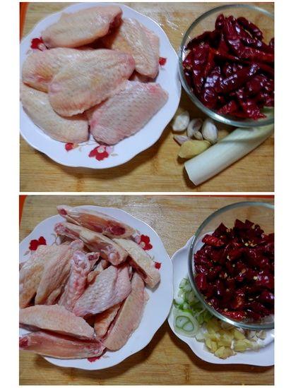 香辣鸡翅材料