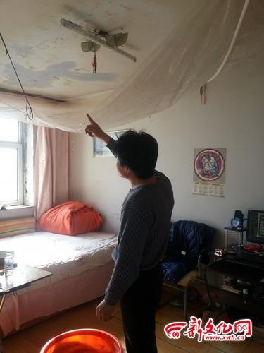 料布做临时吊顶