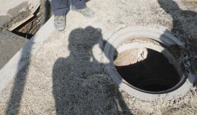 16个下水井盖丢失
