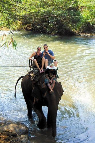 跋山涉水骑大象