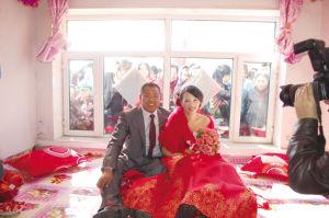 残奥冠军付彦龙和他的新娘徐振华