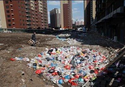 小区垃圾多常停水