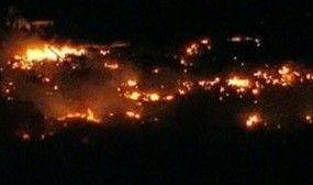 网友实拍德州化肥厂爆炸