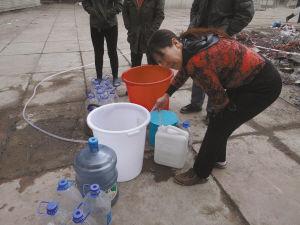 居民停水18天