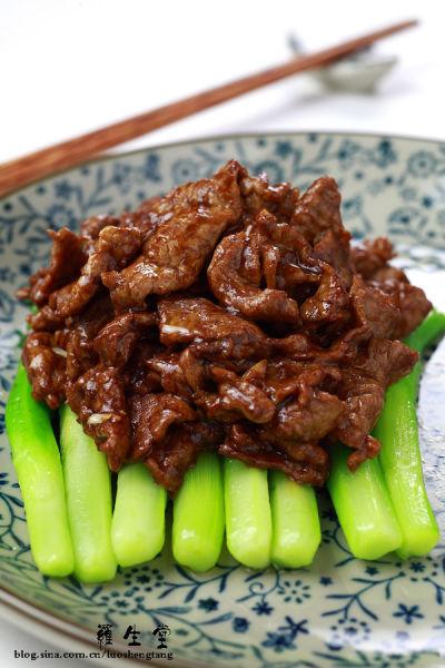 抵抗力和清火兼得的高考神菜 蚝油芥兰牛肉