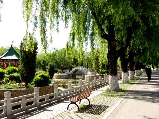 """长春市劳动公园向""""中式古典园林""""跨越"""