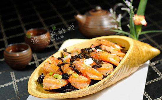 茶香龙井虾