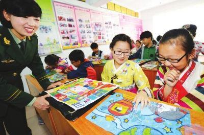 延吉市开展 放飞理想 绘画创作比赛图片