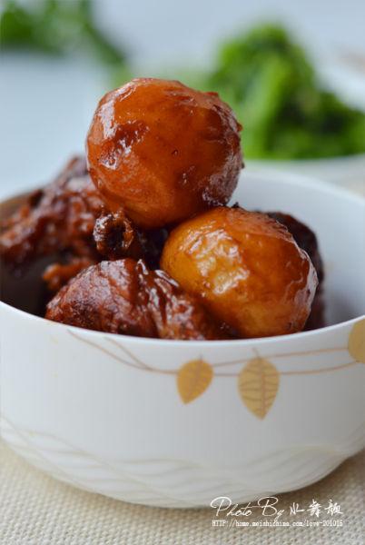 红烧排骨炖小土豆
