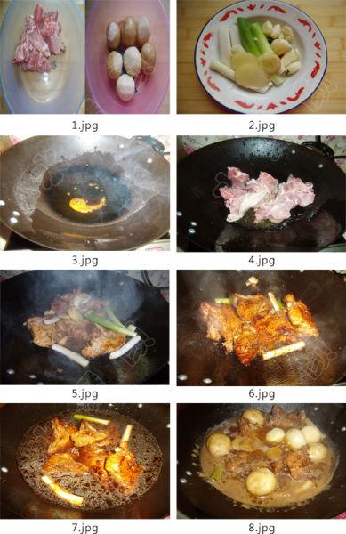 红烧排骨炖小土豆做法