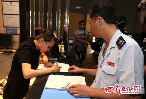 """""""长春市地方税务局发票管理所副所长张鹤表示."""
