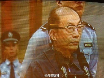 刘志军在庭审现场。