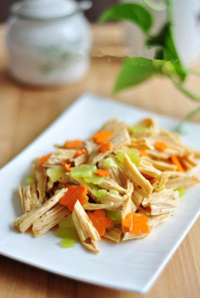 夏季美味家常菜 凉拌腐竹