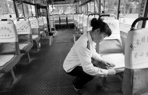 车厢里的细节让人感觉很温馨 本组图片 记者 张秋磊 摄