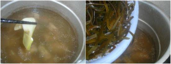 家常美味自制 海带排骨汤