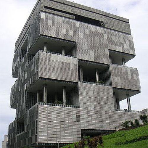 广州铜钱大楼命名为广州圆大厦 盘点全球丑建