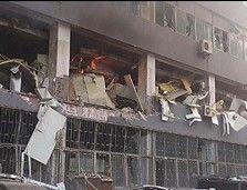 办公楼发生爆炸
