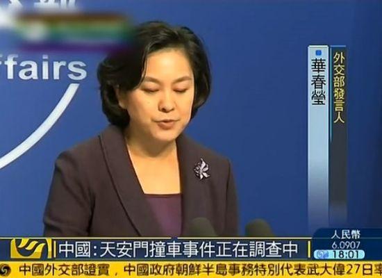 外交部回应金水桥事件 称正在调查中
