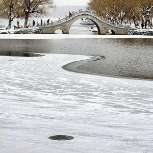 雪后的南湖