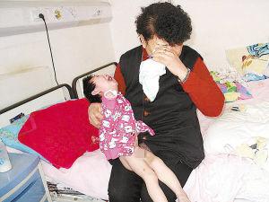 看到孙女这么痛苦,刘沣仪的奶奶痛苦不已