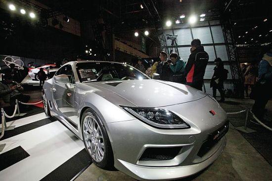 丰田86新概念车将亮相东京改装车展高清图片