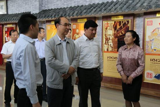 吉林省工商联酒业商会领导来榆树市调研