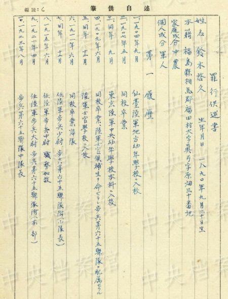 """1935年3月上旬前后,援助高木大佐""""于上板城附近烧掉了两个共有300"""