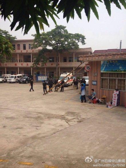 广东中山学校发生挟持人质事件 已僵持19小时