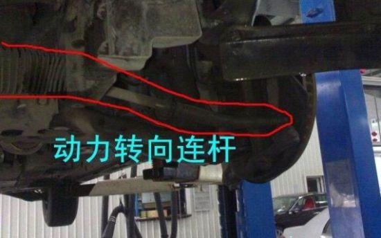 汽车转向拉杆-详解汽车保养过程中最容易被忽略的部件高清图片