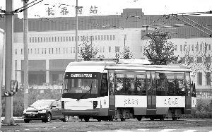 长春市55路有轨电车正式运营。 贾春文 苑激刚 宋�R 摄
