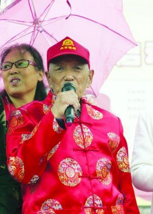 99岁的姜春礼唱《没有共产党就没有新中国》