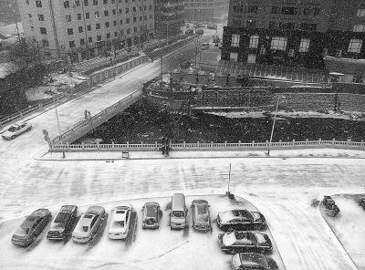 辽源迎来入冬首场雪