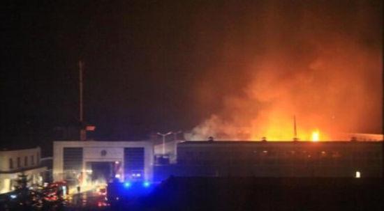 四平英城监狱发生火灾