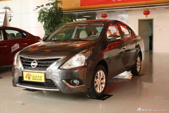 东风日产新款阳光增两款车型 售8.4万起