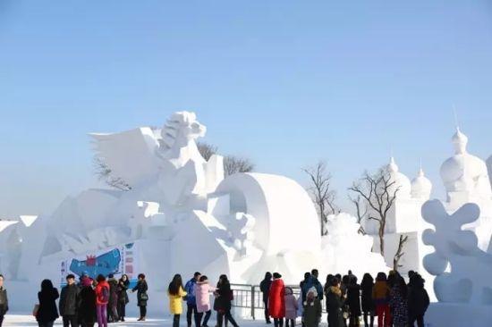 净月雪世界