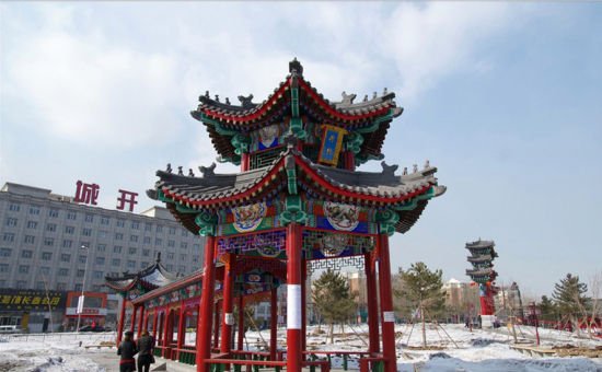 重建的长春文庙