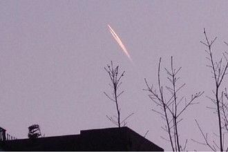南湖上空现UFO?