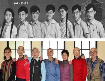 49年后再合影