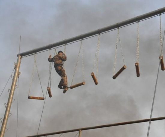 特种兵猎人训练场
