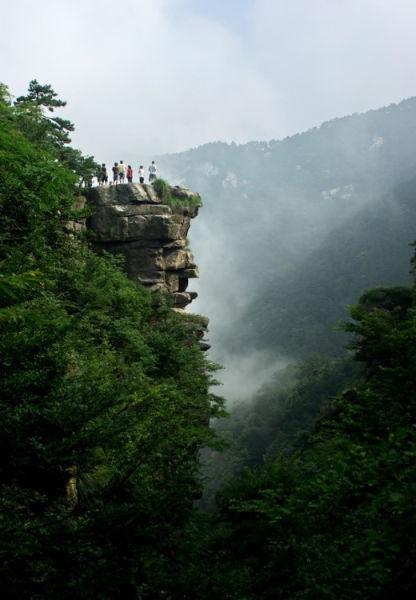 江西庐山锦绣谷