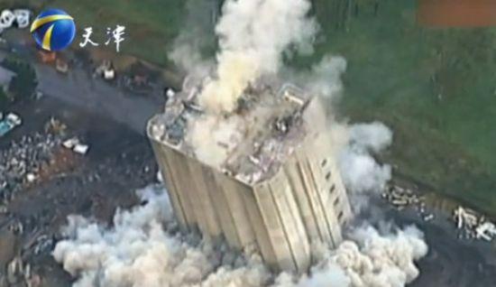 大楼爆破失误