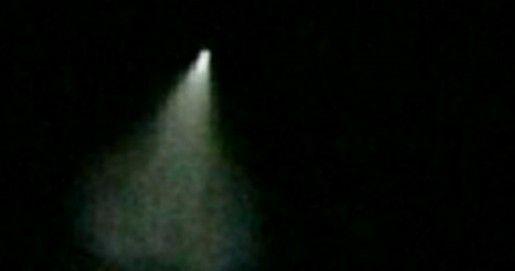 网友目击UFO