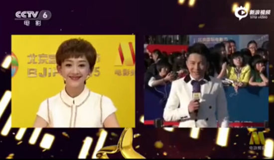 视频:32岁主持人边策主持央视6套节目